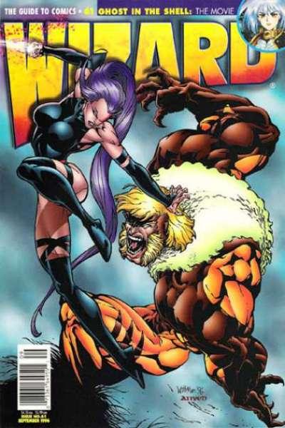 Wizard Magazine #61 comic books for sale