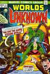 Worlds Unknown #3 comic books for sale