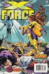 X-Force #58 comic books for sale