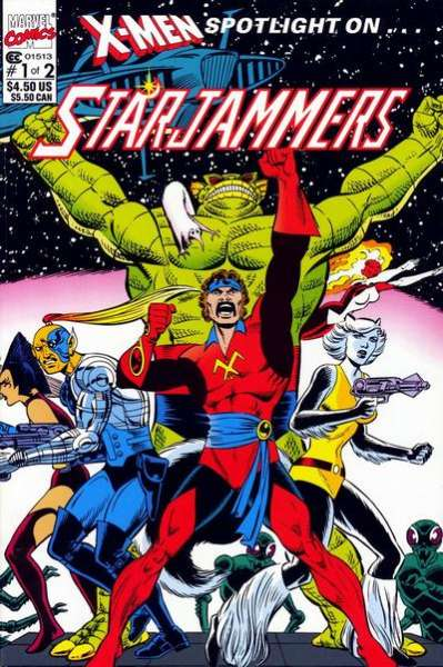 X-Men Spotlight on ... Starjammers comic books