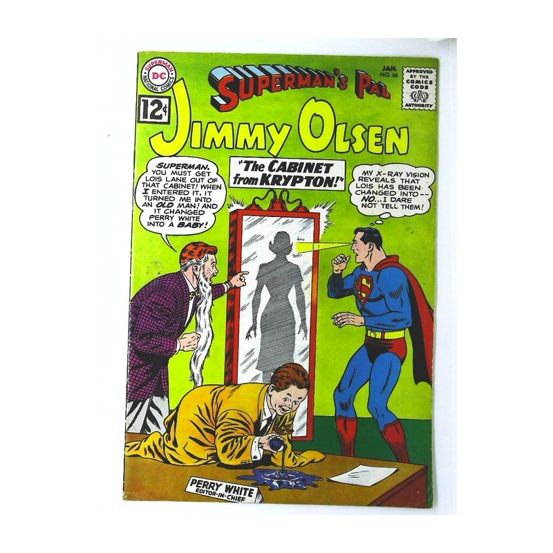Superman's Pal Jimmy Olsen (1954 series) #66 in F + condition. DC comics [*j8]
