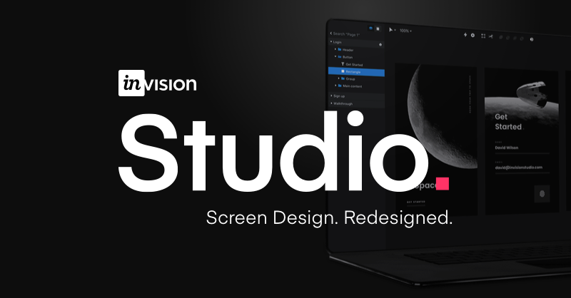 The world's most powerful screen design tool | InVision Studio