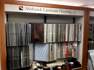 Showroom Laminate Floor Samples