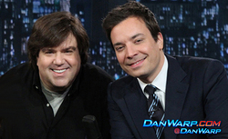 Dan Schneider and Jimmy Fallon
