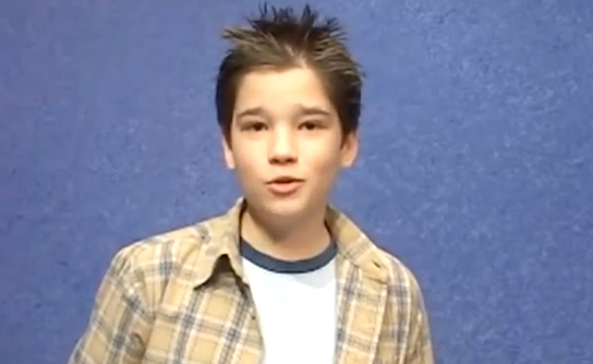 Nathan Kress Auditions for Dan Schneider for iCarly