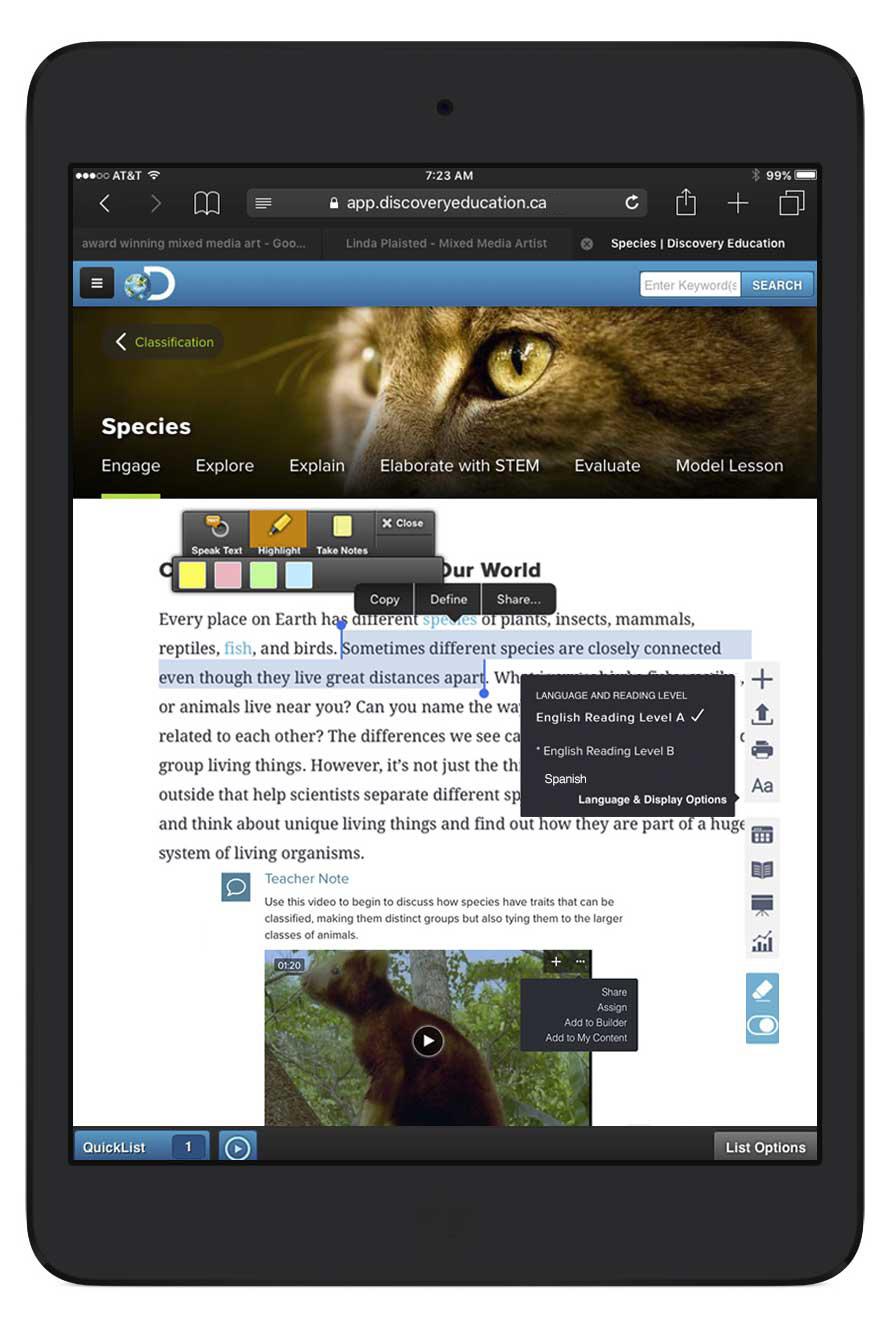 iPad Science Techbook
