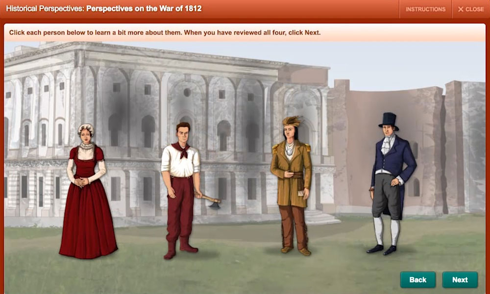 Video still of Perspectives on the War of 1812