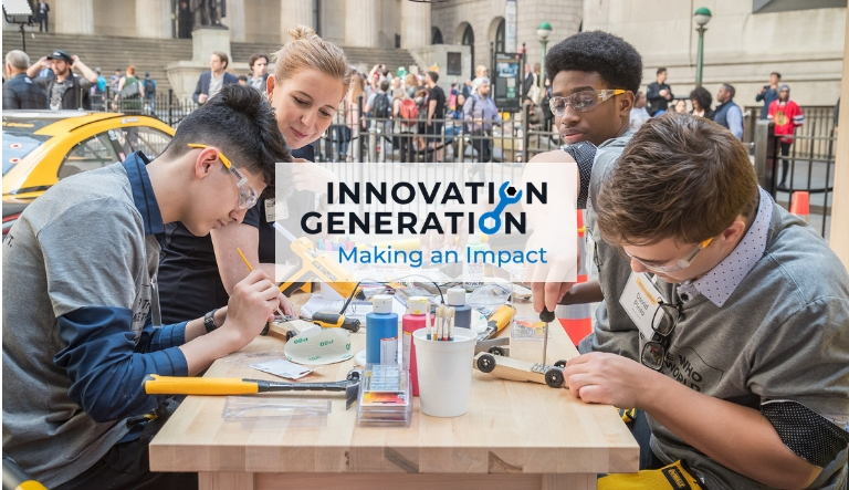 "Stanley Black & Decker and Discovery Education Award $50,000 in Grants and Prizes to ""Innovation Generation Contest"" Grand Prize Winners"