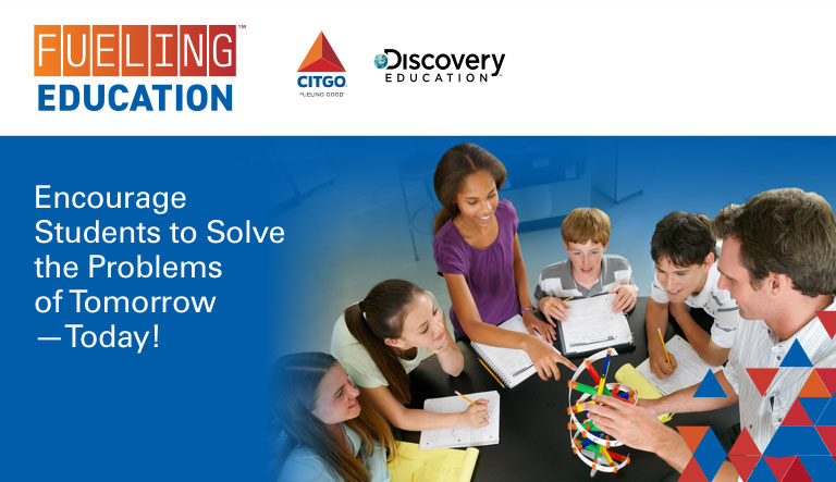 CITGO and Discovery Education Introduce the CITGO Fueling Education™ Student Challenge