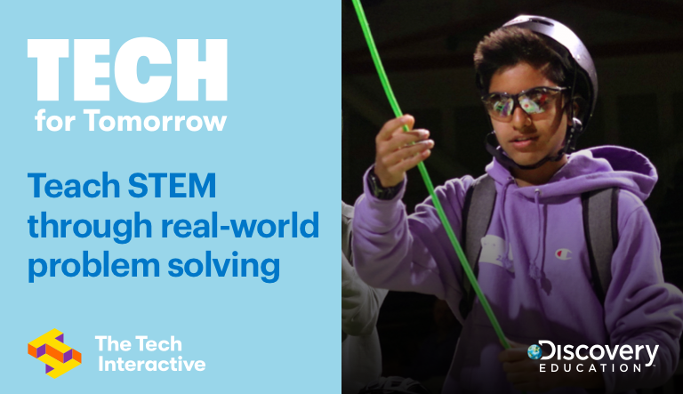 The Tech Interactive and Discovery Education Launch 'Tech for Tomorrow'