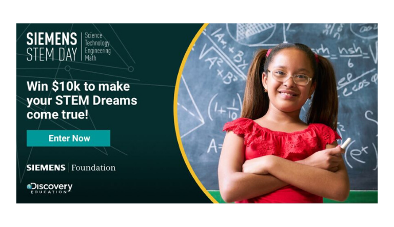 The Siemens Foundation and Discovery Education Spark the Future of STEM with the 2020 Possibility Grant Sweepstakes