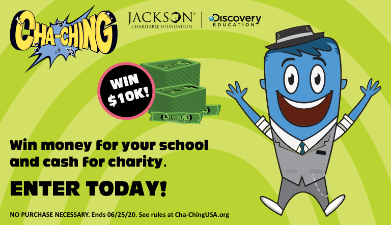 Cha-Ching Money Smart Kids Pledge Challenge Opens to Inspire Virtual Collaboration Between Teachers, Students, and Parents