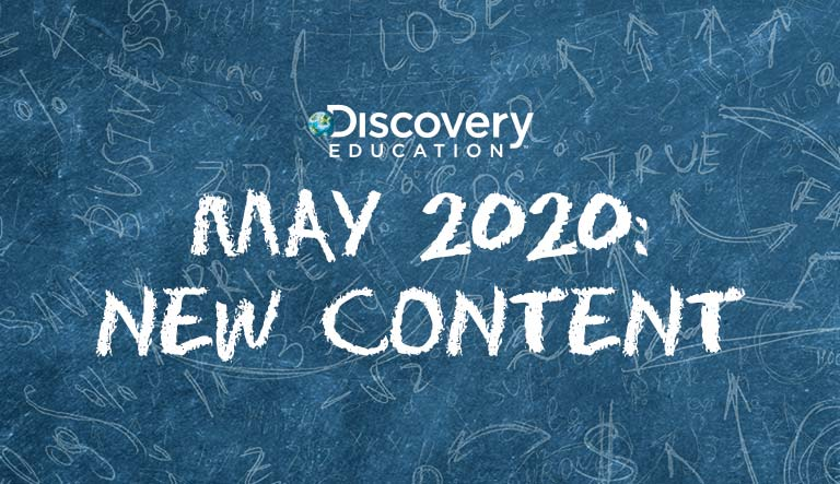 Discovery Education Adds New Content to Award-Winning Digital Services That Engages Students at Home, in the Classroom, or Wherever Learning is Taking Place
