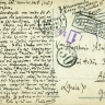 Italy WWI seal ROMA 1918 - italian & Greek censorship. Stamps removed