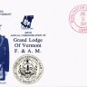 United States 1994 Masonic Cover - Grand Lodge of Vermont F.& A.M.  K.297