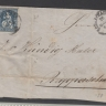 Switzerland - Postal History Rare 10Fr blue on Front Cover Schaffhausen    D.746