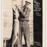 LP65 RPPC Fishing, Fish, Midland, Ontario, Canada, real photo postcard, pub J. W