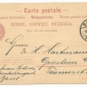 Switzerland 1906 Postal History Rare Old postcard postal stationery Mi.P31 Basel