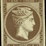 GREECE LHH PARIS PRINT 1L mng VF  HEL 1c  signed