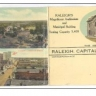 Raleigh, North Carolina, 00-10s   Auditorium & Municipal Bldg Tri-fold postcard