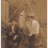 LP79 RPPC Fishing, fish caught in Maumee River, Weston, Ohio, OH, real photo pos