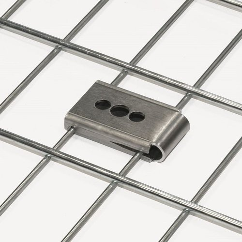 EUTEX International - cable-cleats - Wire Mesh Cable Tray / Basket Clips