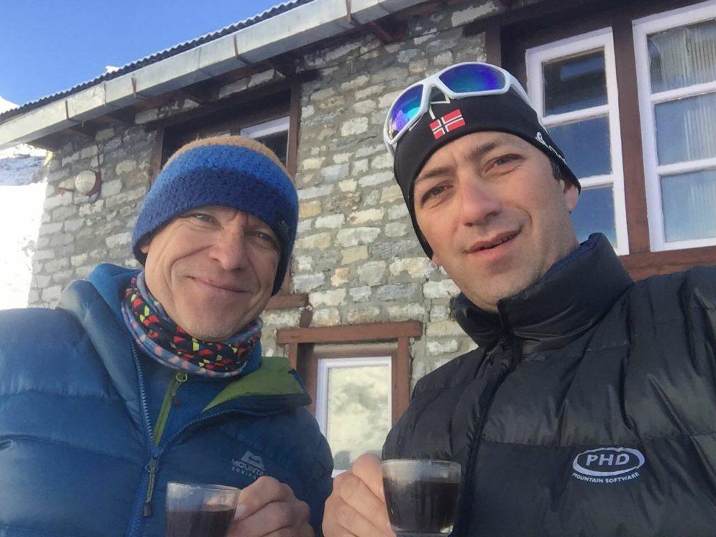 Horia Colibasanu and Peter Hamor