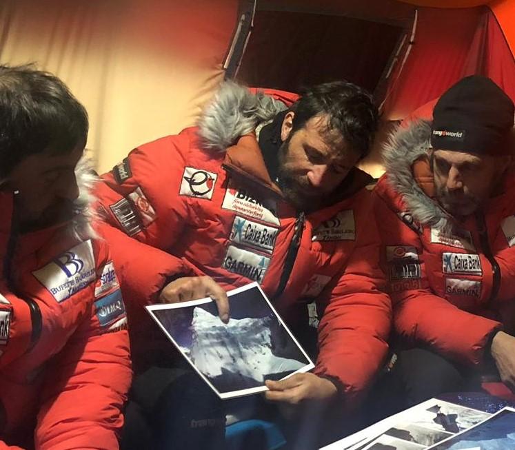 Alex Txikon dreaming of climbing K2 East face