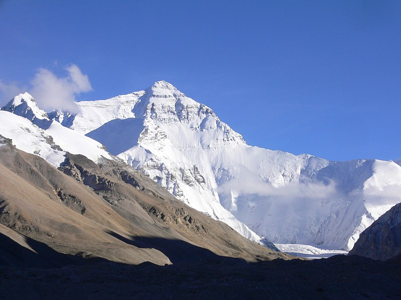 Everest north side