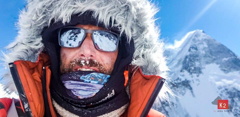 Basque (Spanish) Alex Txikon on winter K2