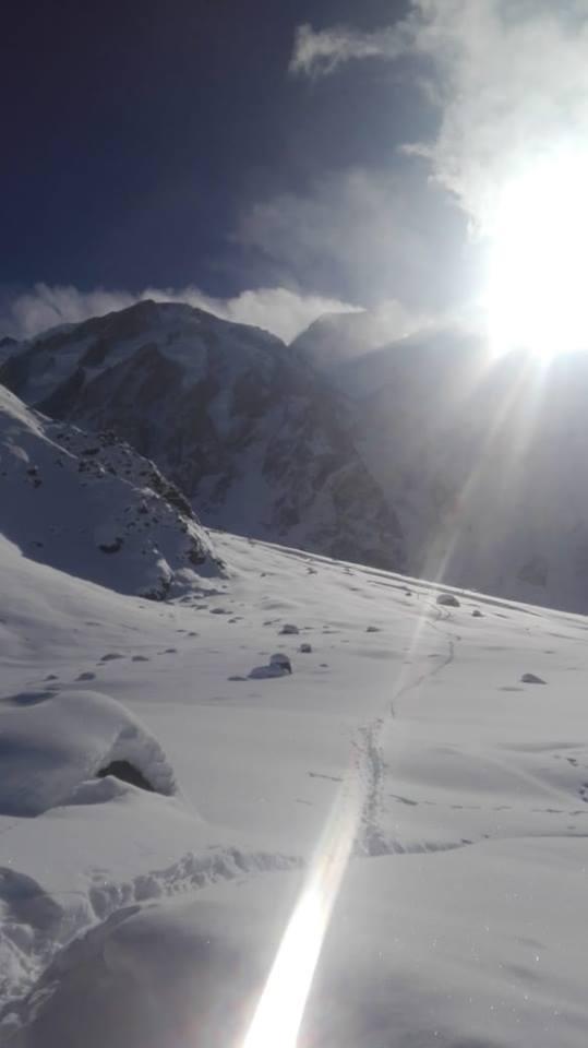 Nanga Parbat Base Camp in March 2019
