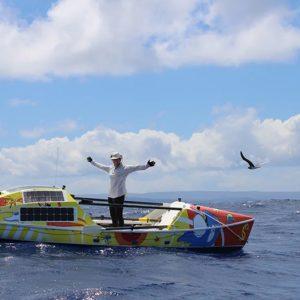 Lia Ditton Reaches Hawaii, Breaks Women's Record