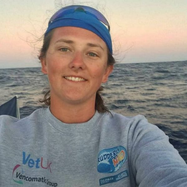 The youngest woman to row an ocean solo