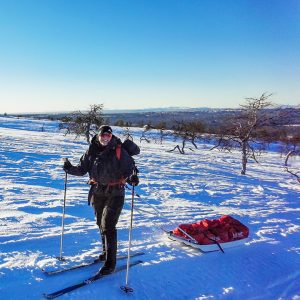 Skiing 1,300km Across Sweden