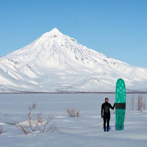 Russia's First Surf School