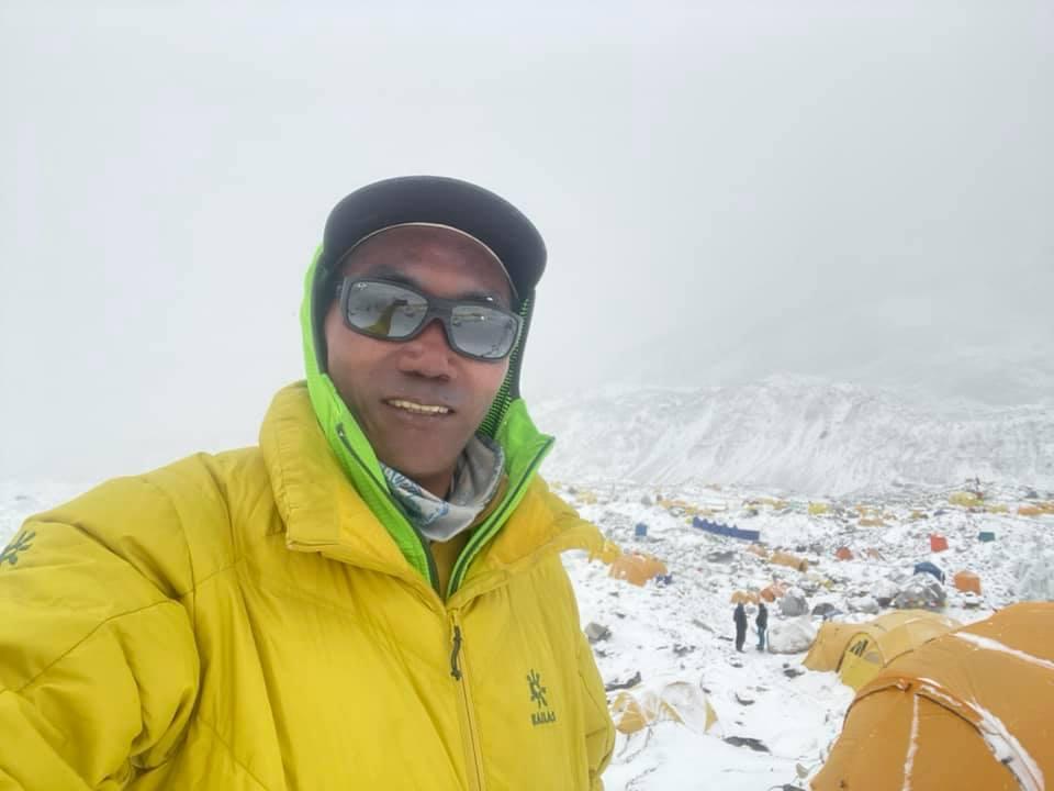 portrait of Kami Rita Sherpa, 25-time Everest summiter