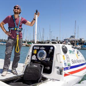 Solo Kayak to Hawaii Begins