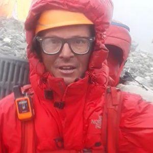 Last Man on Broad Peak Back In Base Camp