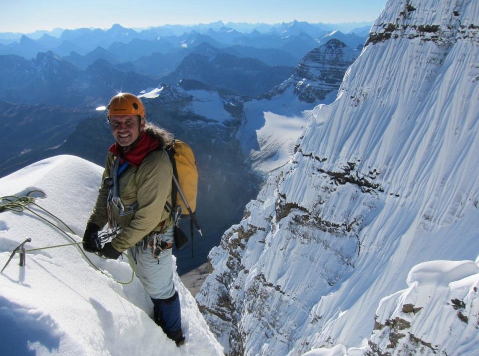 author, climber, barry blanchard