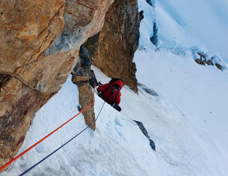 nevado sullcon peruvian andes new route