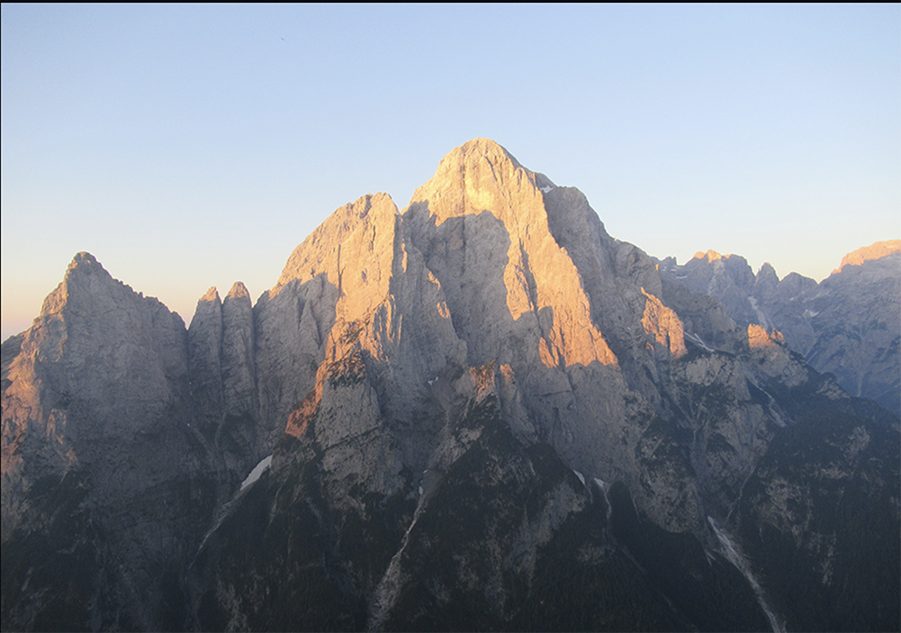 Mount Agner in the Dolomites
