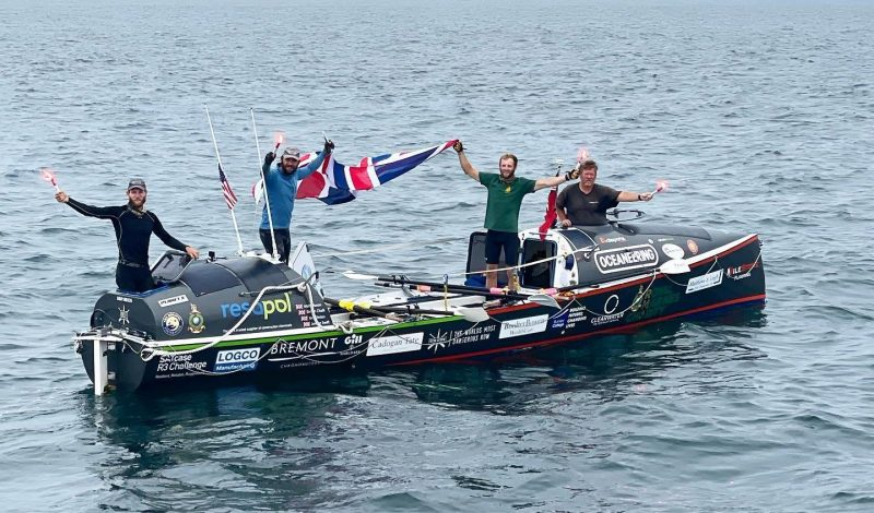 Ocean Revival Becomes First Crew to Row from New York to London