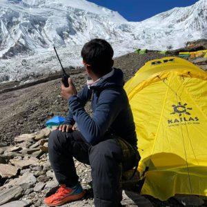 Manaslu Rope Fixers Push for Summit