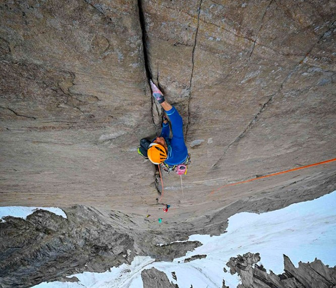 new rock climbs in greenland