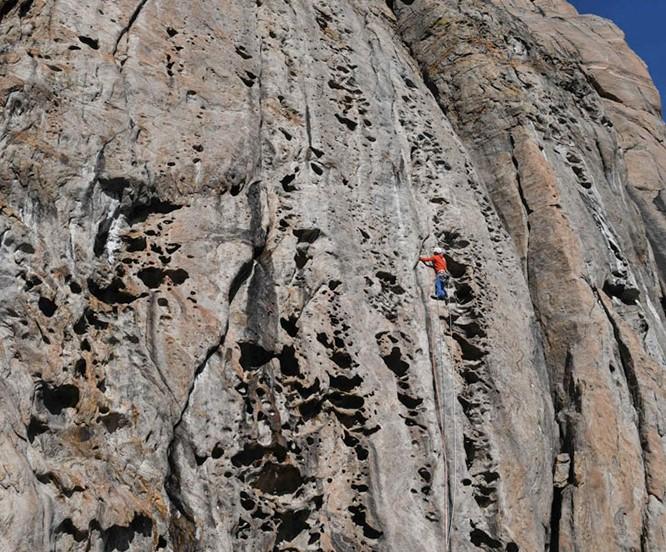 new rock climbing in greenland