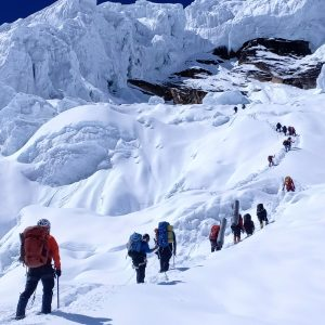Chamlang, Manaslu, and Dhaulagiri; First Ascents in Pakistan