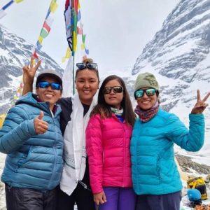 Nepal: Teams in Base Camp, Begin Rotations