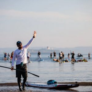Brendon Prince Completes SUP Around Britain