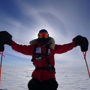 Masatatsu Abe Takes on a Historic Route to the South Pole