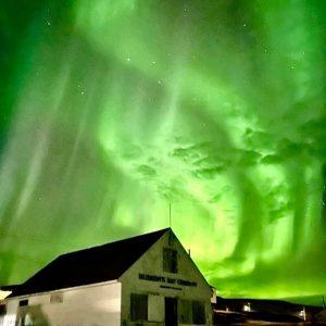 Sure Enough, Solar Flare Creates Amazing Aurora Borealis Display